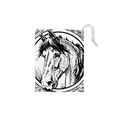 Framed Horse Drawstring Pouches (xs)