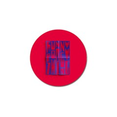 Funny Foggy Thing Golf Ball Marker (4 pack)