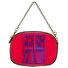 Funny Foggy Thing Chain Purses (two Sides)