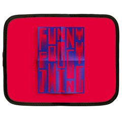 Funny Foggy Thing Netbook Case (xxl)
