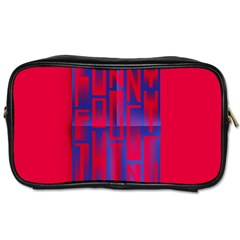 Funny Foggy Thing Toiletries Bags