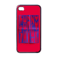 Funny Foggy Thing Apple Iphone 4 Case (black)