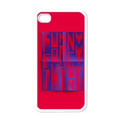 Funny Foggy Thing Apple Iphone 4 Case (white)