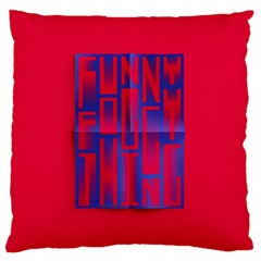 Funny Foggy Thing Large Cushion Case (Two Sides)