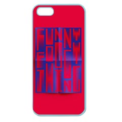 Funny Foggy Thing Apple Seamless iPhone 5 Case (Color)