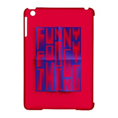 Funny Foggy Thing Apple Ipad Mini Hardshell Case (compatible With Smart Cover)