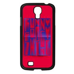 Funny Foggy Thing Samsung Galaxy S4 I9500/ I9505 Case (black)