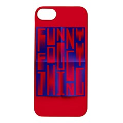 Funny Foggy Thing Apple Iphone 5s/ Se Hardshell Case