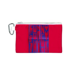Funny Foggy Thing Canvas Cosmetic Bag (s)