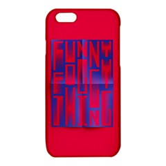 Funny Foggy Thing iPhone 6/6S TPU Case