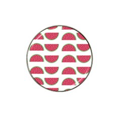 Watermelon Pattern Hat Clip Ball Marker (4 Pack)