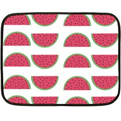 Watermelon Pattern Double Sided Fleece Blanket (mini)