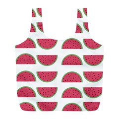 Watermelon Pattern Full Print Recycle Bags (l)