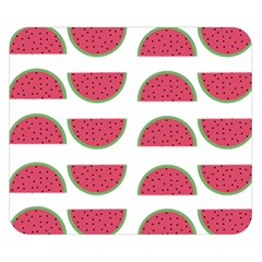 Watermelon Pattern Double Sided Flano Blanket (small)