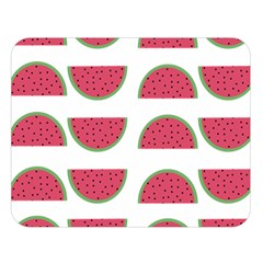 Watermelon Pattern Double Sided Flano Blanket (large)