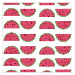 Watermelon Pattern Large Satin Scarf (Square)