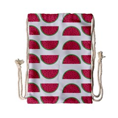 Watermelon Pattern Drawstring Bag (small)