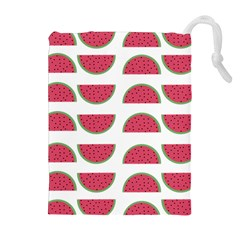 Watermelon Pattern Drawstring Pouches (Extra Large)