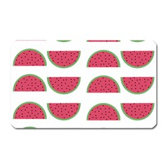Watermelon Pattern Magnet (rectangular)
