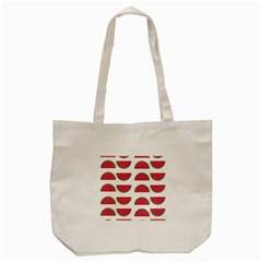 Watermelon Pattern Tote Bag (Cream)
