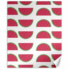 Watermelon Pattern Canvas 16  x 20