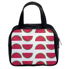 Watermelon Pattern Classic Handbags (2 Sides)