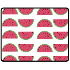 Watermelon Pattern Fleece Blanket (Medium)