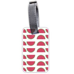 Watermelon Pattern Luggage Tags (one Side)