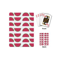 Watermelon Pattern Playing Cards (mini)