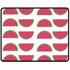 Watermelon Pattern Double Sided Fleece Blanket (medium)