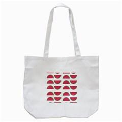 Watermelon Pattern Tote Bag (white)