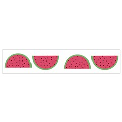Watermelon Pattern Flano Scarf (small)