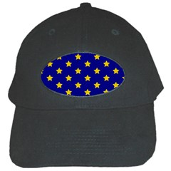 Star Pattern Black Cap