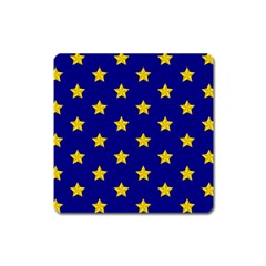 Star Pattern Square Magnet