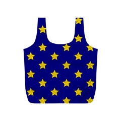Star Pattern Full Print Recycle Bags (s)