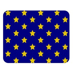 Star Pattern Double Sided Flano Blanket (Large)