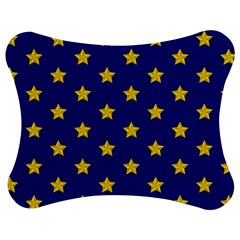 Star Pattern Jigsaw Puzzle Photo Stand (bow)