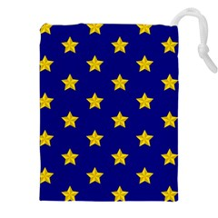 Star Pattern Drawstring Pouches (XXL)
