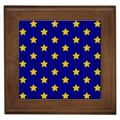 Star Pattern Framed Tiles