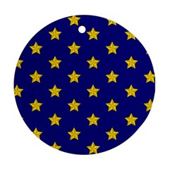 Star Pattern Ornament (round)