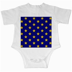 Star Pattern Infant Creepers