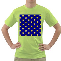 Star Pattern Green T-Shirt