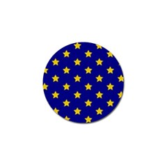 Star Pattern Golf Ball Marker (10 Pack)