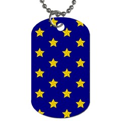 Star Pattern Dog Tag (two Sides)