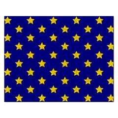 Star Pattern Rectangular Jigsaw Puzzl