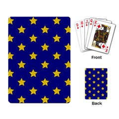 Star Pattern Playing Card