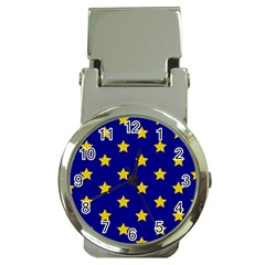 Star Pattern Money Clip Watches