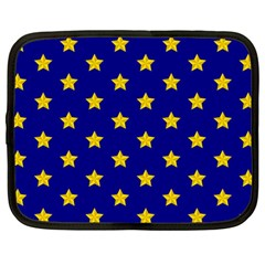 Star Pattern Netbook Case (large)