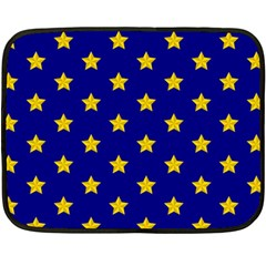 Star Pattern Double Sided Fleece Blanket (mini)