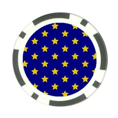 Star Pattern Poker Chip Card Guard (10 Pack)